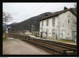 25  DELUZ   .. La  Gare  Desaffectée - France
