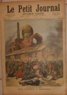 Le Petit Journal. 6 Août 1892. Le Choléra En Russie. Troubles à Astrakan. Arrivée Du Président De La République. - Boeken, Tijdschriften, Stripverhalen