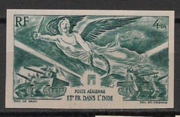 Inde - 1946 - PA N°Yv. 10 - Victoire WW2 - Non Dentelé / Imperf. - Neuf Luxe ** / MNH / Postfrisch - Unused Stamps