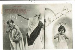 CPA-Carte Postale-France-Nouvel An - L'homme à La Faucille Chasse 1903   VM8955 - Nouvel An