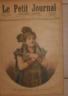 Le Petit Journal. 13 Août 189. Mademoiselle Bréval De L'Opéra. La Prise Des Tuileries Le 10 Août 1792. - Boeken, Tijdschriften, Stripverhalen