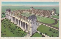 Austin Texas The University Of Texas Memorial Stadium Gl1937 #217.788 - Verenigde Staten