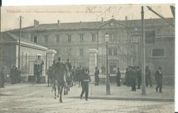 TOULON   ( VAR )  CASERNE GOUVION_ SAINT-CYR _ SORTIE DU RÉGIMENT - Toulon