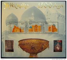 Kazakhstan  2000   1500 Year Of Turkestan  S/S  MNH - Kasachstan