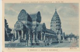 C. P. A. - EXPOSITION COLONIALE INTERNATIONALE - PARIS - 1931 - ANGKOR-VAT - GALERIE ET TOUR NORD EST - 113 - BRAUN - - Exposiciones