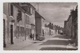 BA228 - BASSOU - La Grande Rue - Hotel A-Ducrot - Café - Belle Voiture Ancienne - France