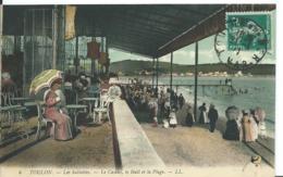 TOULON   ( VAR )   LES SABLETTES_ LE CASINO , LE HALL ET LA PLAGE - Toulon