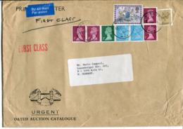 Regno Unito - Busta Aerea Per L'Italia - 1952-.... (Elisabetta II)