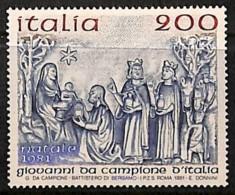 D - [810958]TB//**/Mnh-Italie 1981 - N° 1514, Noël, Bas Relief, Art, Religion. - Weihnachten