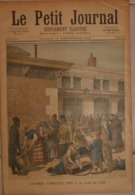Le Petit Journal. 10 Septembre 1892. Campement D'émigrants Juifs à La Gare De Lyon. La Savoie à La France. - Boeken, Tijdschriften, Stripverhalen
