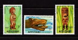 AITUTAKI    1978    Bicentenary  Of  Discovery  Of Hawaii    Set  Of  3    MNH - Aitutaki