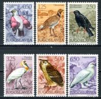 JUGOSLAVIA 1972** - Uccelli / Birds - 6 Val. MNH, Come Da Scansione. - Uccelli