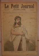 Le Petit Journal. 17 Septembre 1892. M. Mounet Sully De La Comédie Française. La Bataille De Valmy. 1792. - Boeken, Tijdschriften, Stripverhalen