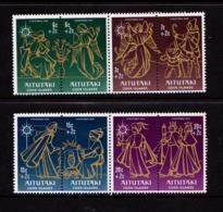 AITUTAKI    1976    Childrens  Christmas  Fund    Set  Of  8    MNH - Aitutaki