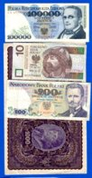 Pologne  8  Billets - Poland