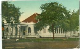 Nederlands-Indië 1915; Jakarta, Schouwburg Weltevreden - Gelopen. (UPU) - Indonesië