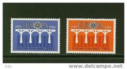 Finlande/Suomi - Europa 1984  Mnh*** - Europa-CEPT