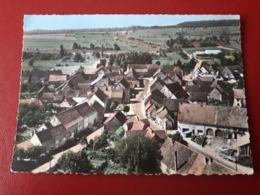 CPSM  BISCHTROFF SUR SARRE VUE AERIENNE - France