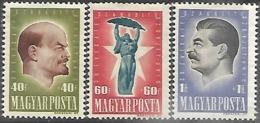 Hungary  1947     Sc#B199-201 Set  MH   2016 Scott Value $11 - Hungary