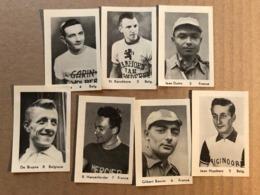 7 Chromos / Cards Maple Leaf -  Cyclists - Cyclisme - Ciclismo - Wielrennen