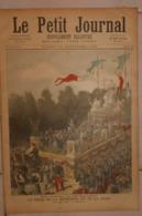 Le Petit Journal. 24 Septembre 1892. Le Char De La Concorde Et De La Paix. Fête Nationale Du 22 Septembre. - Boeken, Tijdschriften, Stripverhalen