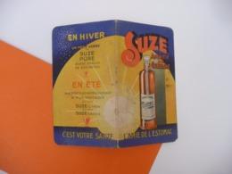 CALENDRIER PUBLICITAIRE 1939 SUZE Apéritif A La Gentiane - Advertising