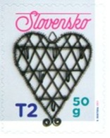 Slovakia - 2019 - Christmas - Traditional Slovak Tinsmithing - Mint Self-adhesive Booklet Stamp - Nuovi