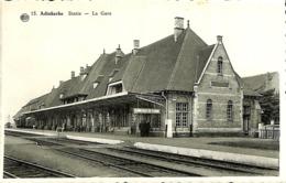 CPSM - Belgique - Adinkerke - Statie - La Gare - Belgique