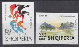 Europa Cept 1998 + 1999 Albania 2 M/s ** Mnh (45204) - Europa-CEPT