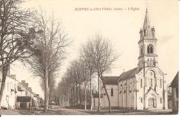 Ruffec Le Château -   L'Eglise - France