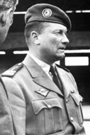 Reproduction D'une  Photo Ancienne Guerre D'Algérie - Le Colonel Jeanpierre, Commandant Le 1er REP - Reproductions