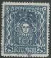 Österreich 1922, MiNr 399 A,  Gestempelt - Usados