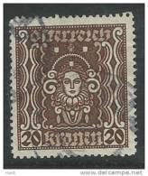 Österreich 1922, MiNr 398 A,  Gestempelt - Usados