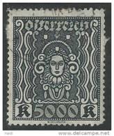 Österreich 1922, MiNr 407 A,  Gestempelt - Usados