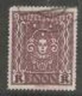 Österreich 1922, MiNr 406 A,  Gestempelt - Usados