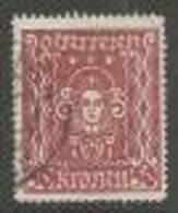 Österreich 1922, MiNr 400 A,  Gestempelt - Usados