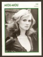 PORTRAIT DE STAR 1980 FRANCE - ACTRICE MIOU MIOU - ACTRESS CINEMA FILM PHOTO - Fotos