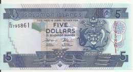 ILES SALOMONS 5 DOLLARS ND2008 UNC P 26 - Solomon Islands