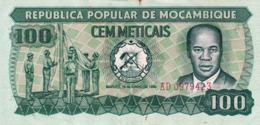 "Mozambique 100 Meticais 1980 VF P-126 ""free Shipping Via Regular Air Mail (buyer Risk)"" - Mozambique"