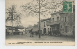 CASTELJALOUX - Place Gambetta Et Cours Victor Hugo - Casteljaloux