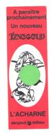 Marque Pages: Iznogoud, L' Acharné, Dargaud Editeur, BD (b260/4) - Marque-Pages