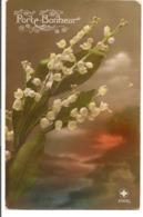 L55b040 - Porte Bonheur - Bouquet De Muguet - Croix Blanche N°2062/5 - Fancy Cards