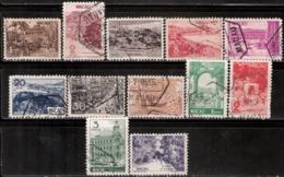 Macau, 1948, # 327/38, Used - Used Stamps
