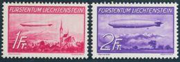 Liechtenstein, Aéreo. MH *Yv 15/16. 1936. Serie Completa. MAGNIFICA. Yvert 2012: 85 Euros. - Liechtenstein