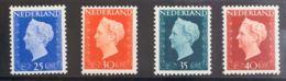 Holanda. MNH **Yv 474/77. 1947. Cuatro Valores Claves. MAGNIFICOS. Yvert 2012: 91 Euros. - Holanda