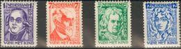 Holanda. MNH **Yv 215/18. 1928. Serie Completa. MAGNIFICA. Yvert 2012: 50 Euros. - Holanda