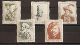 Holanda. MNH **Yv 649/53. 1956. Serie Completa. MAGNIFICA. Yvert 2015: 55 Euros. - Holanda