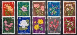 Macao. MH *Yv 363/72. 1953. Serie Completa. MAGNIFICA. Yvert 2008: 75 Euros. - Sin Clasificación