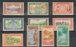Cook. MH *Yv 76/85. 1949. Serie Completa. MAGNIFICA. (SG150/59 50£) Yvert 2013: 45 Euros. - Islas Cook