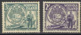 Norfolk. MNH **Yv 23/24. 1959. Serie Completa. MAGNIFICA. Yvert 2008: 60 Euros. - Isla Norfolk